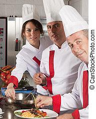 cozinheiros, profissional