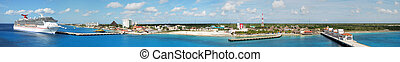 Cozumel Island Panorama - The panoramic view of Cozumel ...