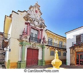 cozy, autêntico, ruas, catalão, cidades, paisagens, típico