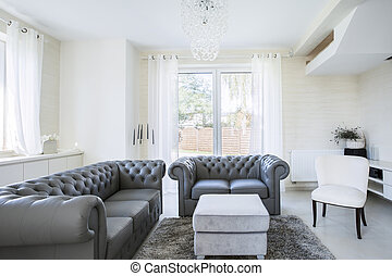 Cozy place to relax in modern house - Cozy place to relax in...