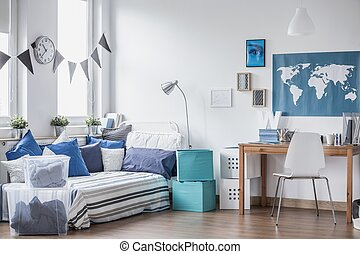 Cozy space for boy