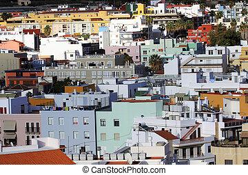 Cozy town Los Llanos on La Palma