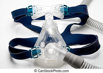 CPAP Mask - A full face mask for a CPAP machine.