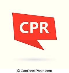 cpr, (cardiopulmonary, resuscitation), betűszó, képben...