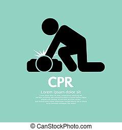 cpr, wiederbelebung, kardiopulmonal
