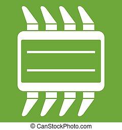 CPU icon green