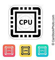CPU icon.
