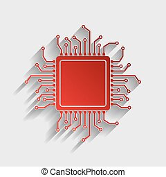 CPU Microprocessor illustration