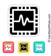 CPU monitoring icon.