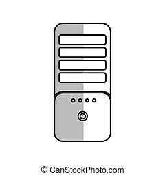 cpu, pc コンピュータ, タワー, 技術