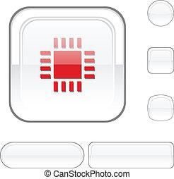 Cpu white button.