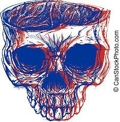 cráneo, 3d