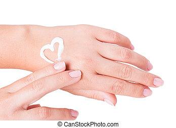crème main