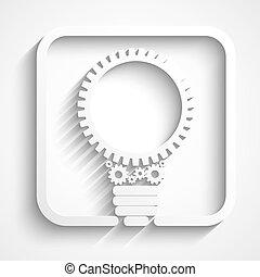 créatif, ampoule