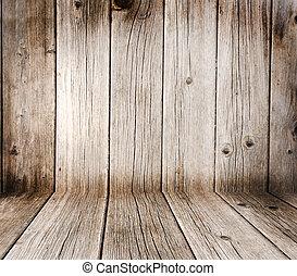 créatif, bois, arrière-plan., welcome!, plus, semblable,...