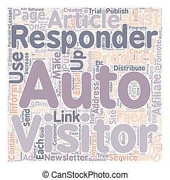 créatif, et, profitable, directions, dans, quel, à, usage, autoreponders, texte, fond, wordcloud, concept