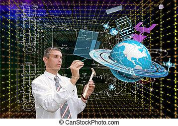 création, technologie, innovateur