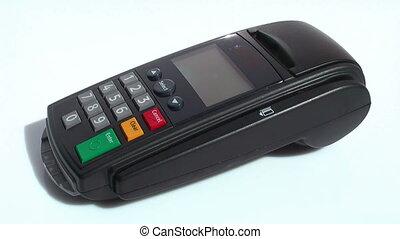 crédit, 01, carte, -, terminal, hd, scène