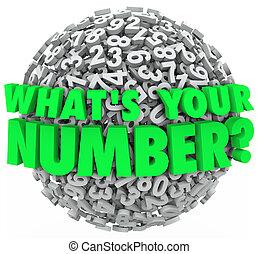 crédit, est, question, nombre, budget, sphère, partition, ...