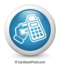crédit, pos, carte