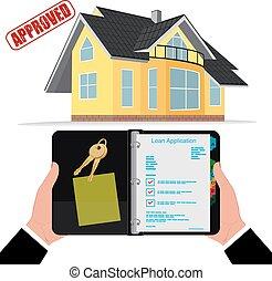 crédito imobiliário, aprovado, hipoteca