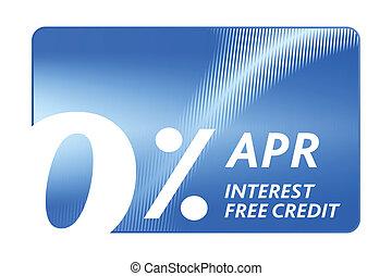 crédito, livre, cartão
