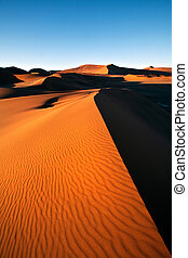 crête, dune