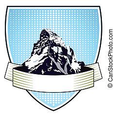 crête montagne