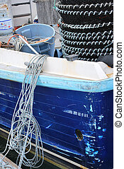 Crab and lobster pots.