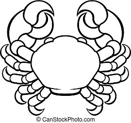 Crab Cancer Horoscope Zodiac Sign