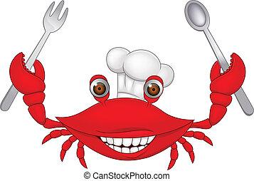 Crab chef