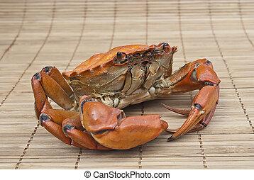 Crab prepared