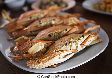 crab ,ready to eat!