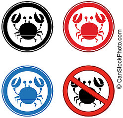 Crab Signs.Collection
