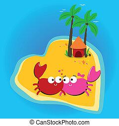 Crabs in love