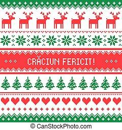Geseende kersfees merry christmas in afrikaans greetings card craciun fericit greeting card merry christmas in romanian pattern m4hsunfo