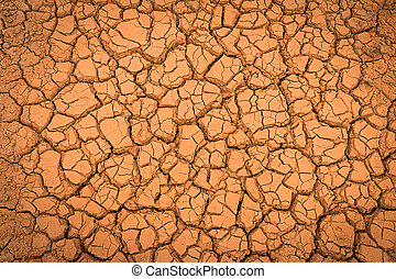 Crack earth/Crack soil on dry season/Global worming effect...