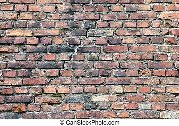 Crack in the brick wall