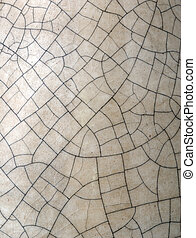 Cracks on the enamel - suitable forl background or texture.