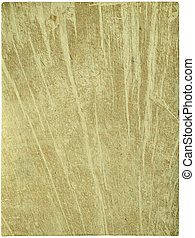 Cracked brown and cream wood style paper isolated