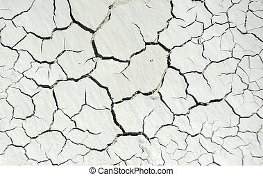 Cracked concrete background - Gray cracked concrete texture...