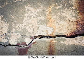 Cracked concrete texture - Cracked concrete texture closeup...