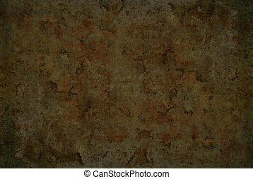 Cracked background in a gothic style with warm brown and gold colors