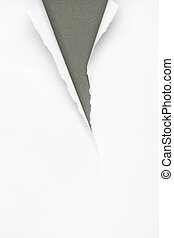 Cracked grey paper background