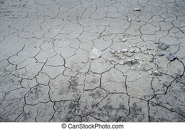 Cracked Ground Background