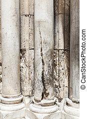 Cracked Pillar
