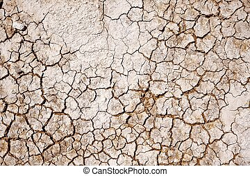 Cracked Soil Photo Background. Badlands Cracked Dry Lands