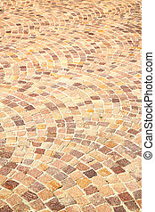 cracked step brick in texture material the background