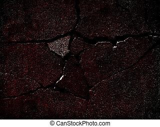Cracked surface background.