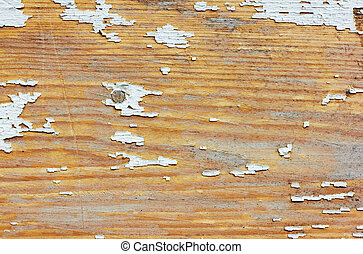 Cracked wood painted texture